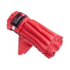 Перчатки снарядные, шингарты, кожзам, красно-сине-черный