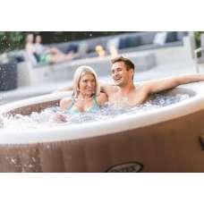 "СПА-бассейн 145/196х71см ""Bubble Massage"", аэромассаж, Intex 28426"