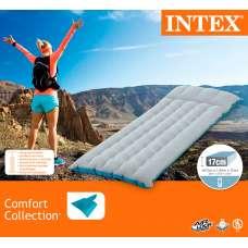 Матрас надувной односпальный Camping 67х184х17см Intex 67997