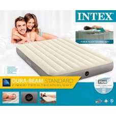 Матрас надувной двуспальный 152х203х25см Intex 64103