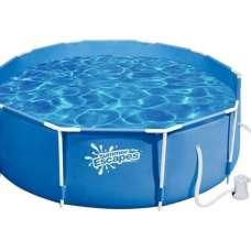 Каркасный бассейн Polygroup Summer Escapes 244х76 см (фильтр-насос)