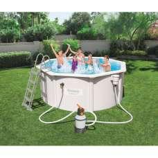 Каркасный бассейн Bestway Hydrium Pools 56566, 300х120 см, полный комплект с песч. насосом