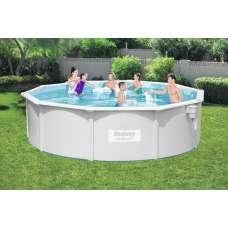 Каркасный бассейн Bestway Hydrium Pools 56384, 460х120 см, полный комплект с песч. насосом
