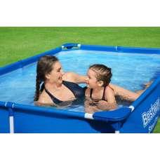 Каркасный бассейн Bestway Steel Pro 56401, 221х150х43см