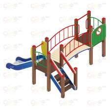 Детский игровой комплекс «Карапуз» ДИК 1.001.03 H=750