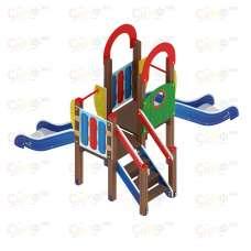 Детский игровой комплекс «Карапуз» ДИК 1.001.07 H=750 Н=900