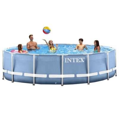 Каркасный бассейн INTEX 28700 Prism Frame Pool (круг) 3,05х0,76м