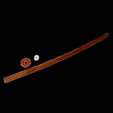 Макет меча Бокен, красный дуб