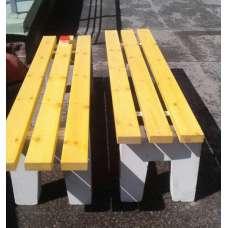 Лавка бетонная CКМ-2