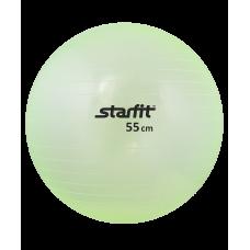 Мяч гимнастический GB-105 прозрачный (зеленый, розовый)