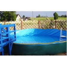 "Полибортовый каркасный бассейн ""виктория"" 6.0 х 1.25 м"